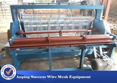Cina Woven Technique Wire Mesh Mesin Crimping Adjustable Width 2 - 20mm Mesh Distributor