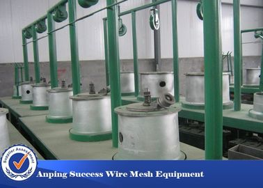 Cina Custom Drawing Rod Rod Machine, Wire Drawing Plant Dengan Annealer Distributor