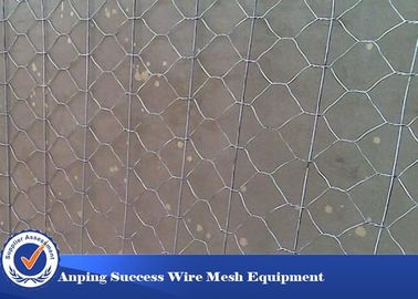 Cina Multi Function Rock Baskets Wire Mesh, Rock Gabion Baskets Silver Green Color Distributor